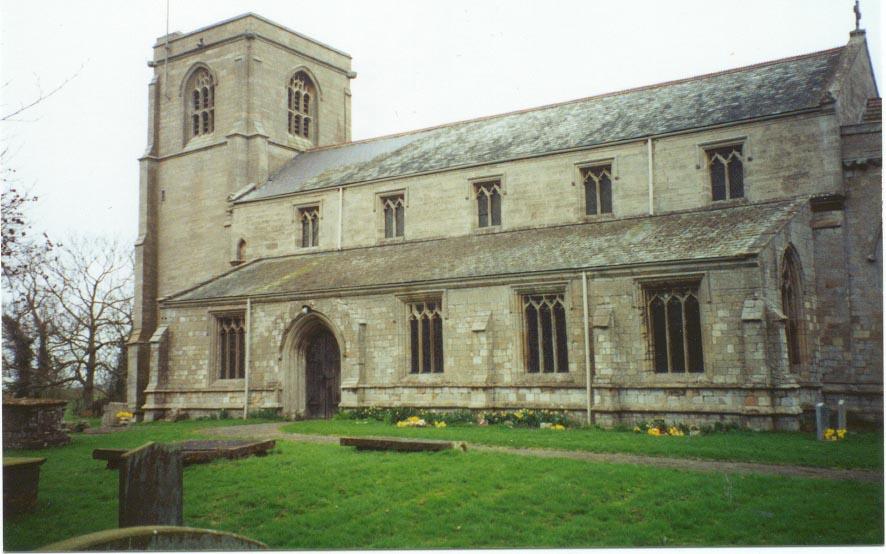 Leverton Saint Helena church