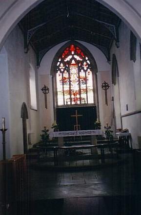 All Saints interior