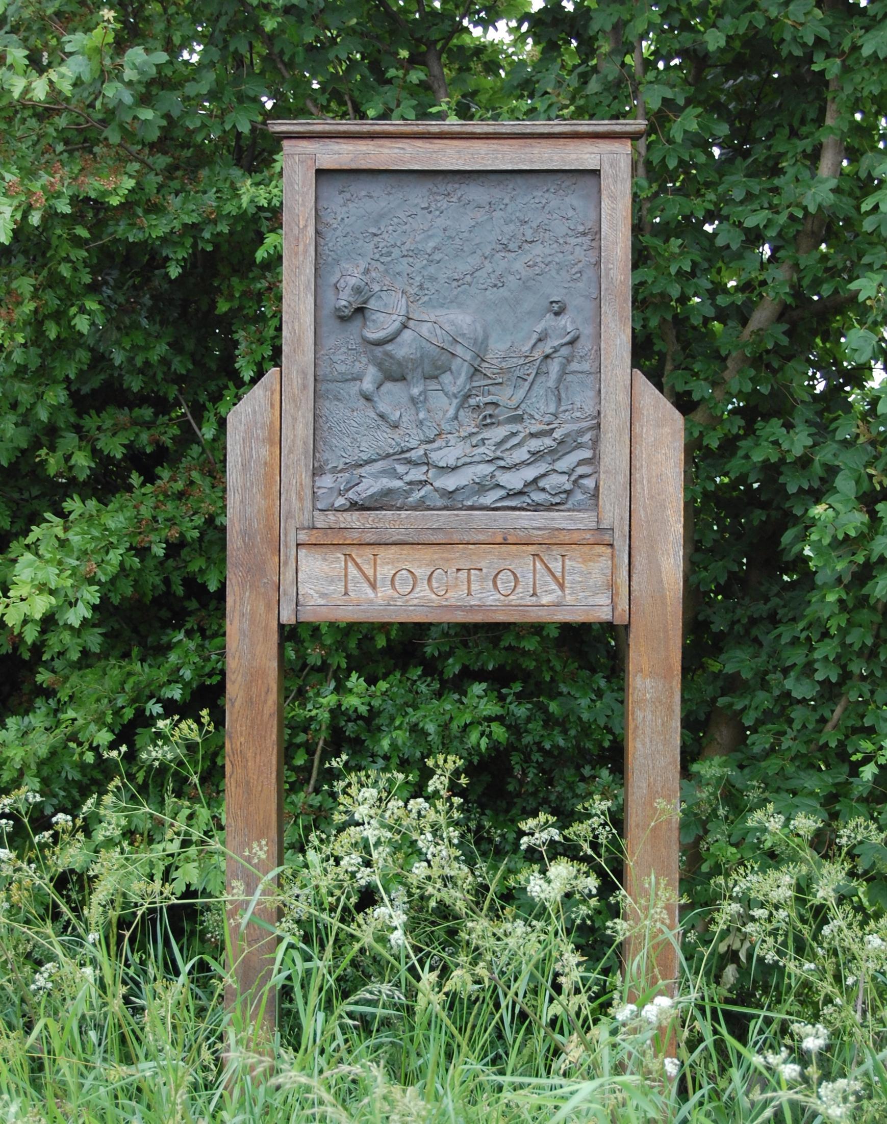 Nocton village sign