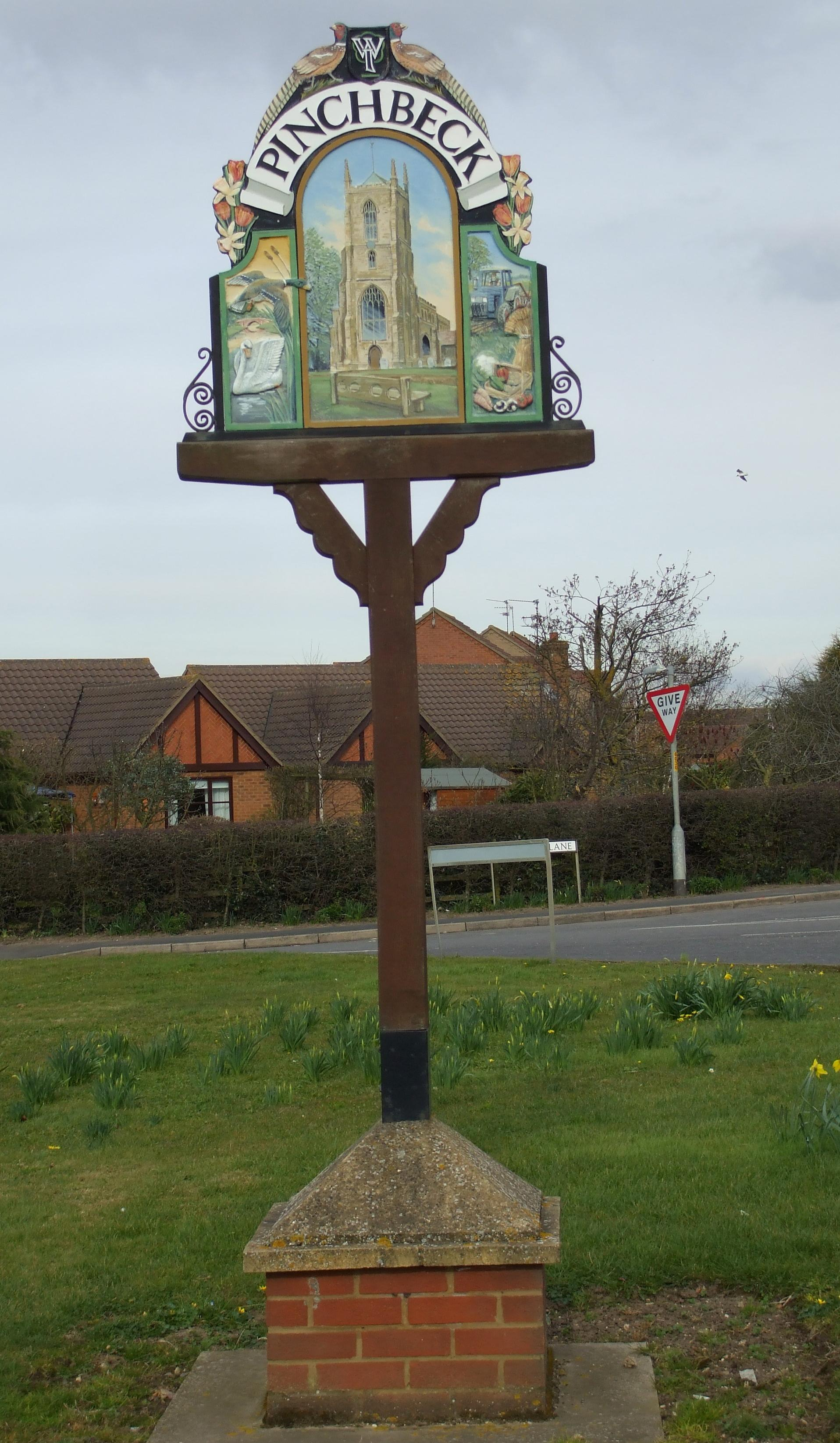 Pinchbeck sign 2
