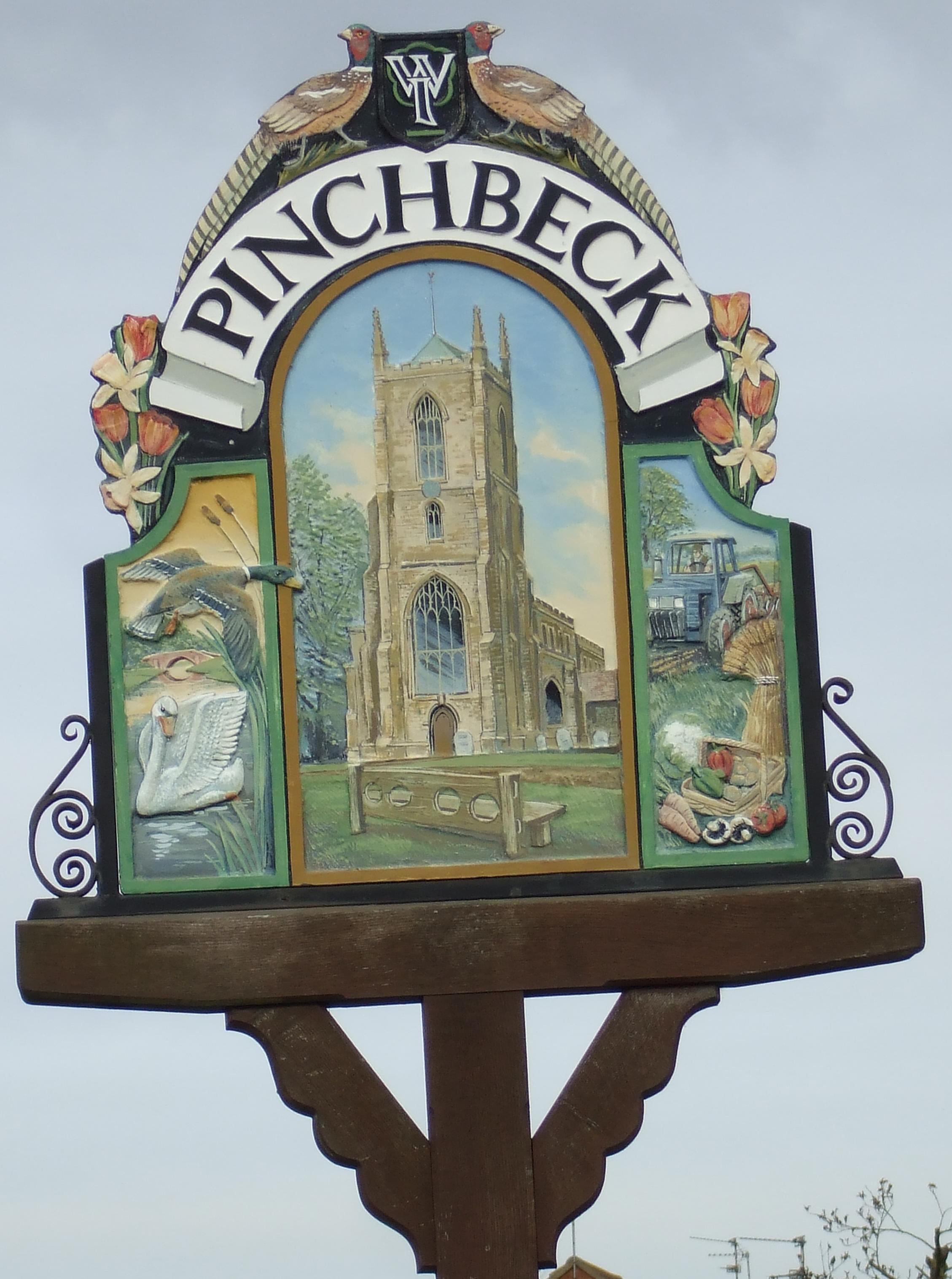 Pinchbeck sign 3