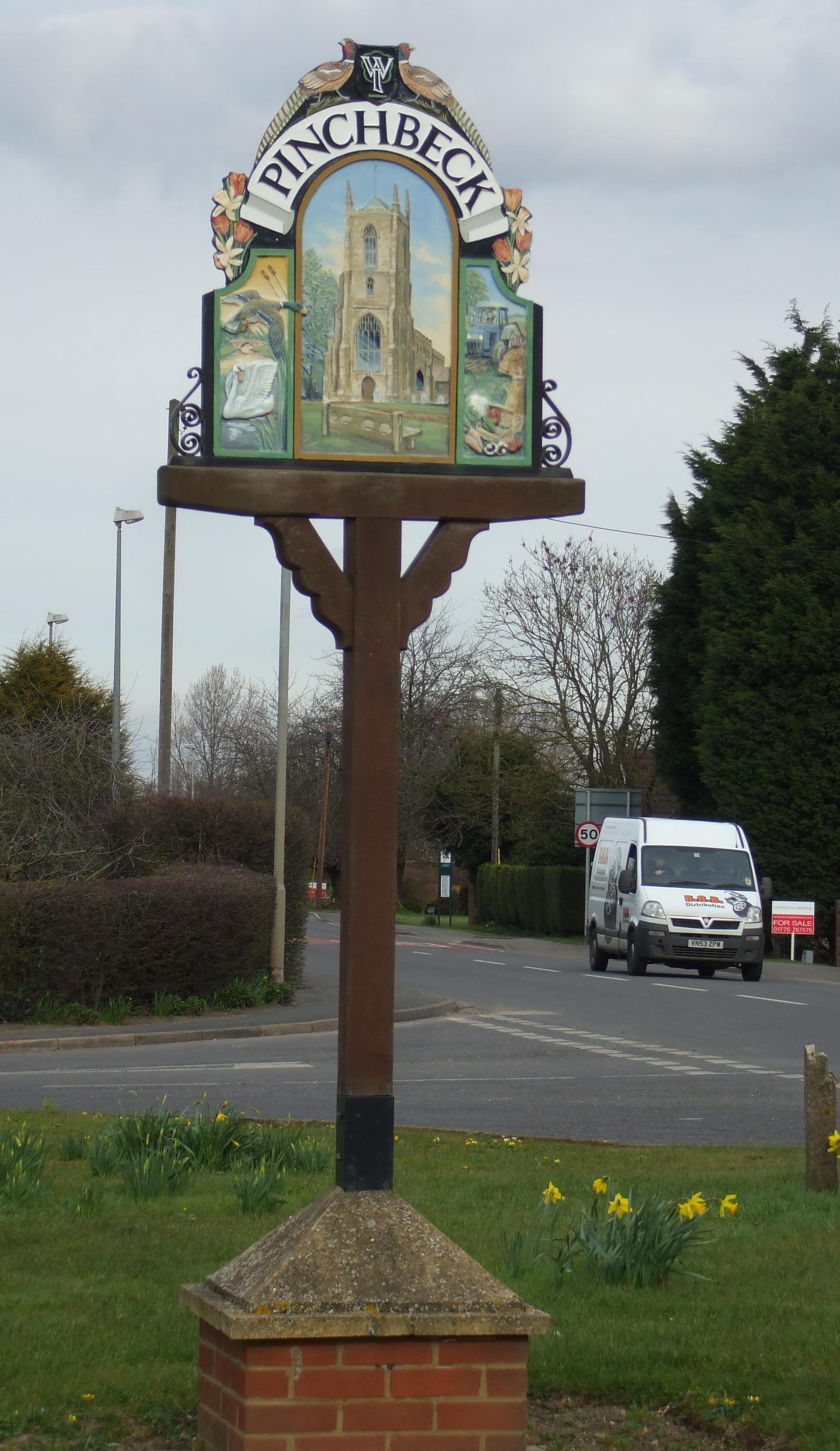 Pinchbeck sign