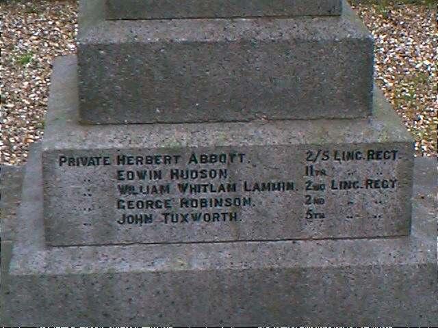 Memorial side 3