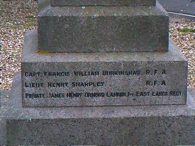 Memorial side 4