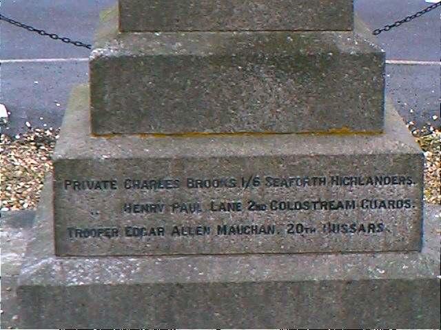 Memorial side 5