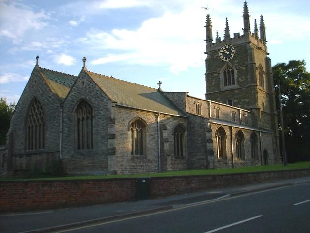 Spilsby parish church