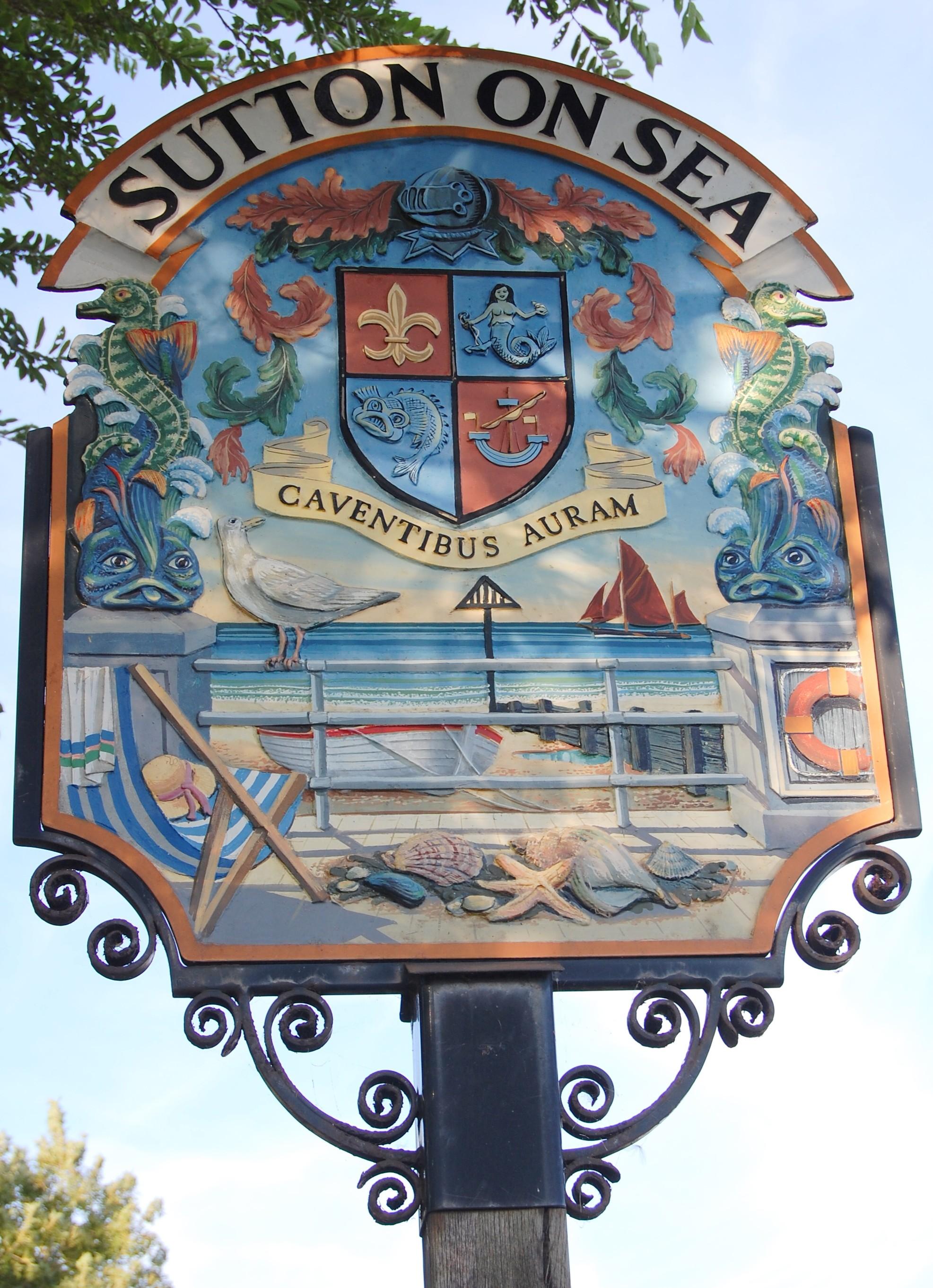 Sutton on Sea village sign