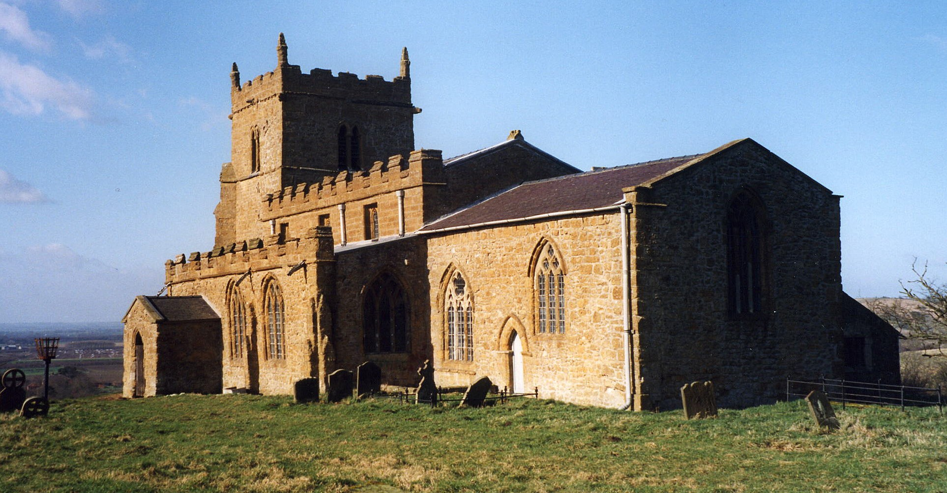 Walesby All Saints church