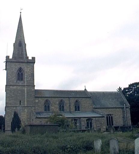 Wellingore parish church