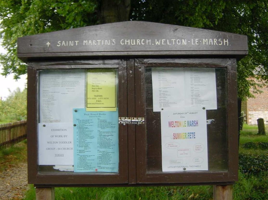 St. Martin's sign