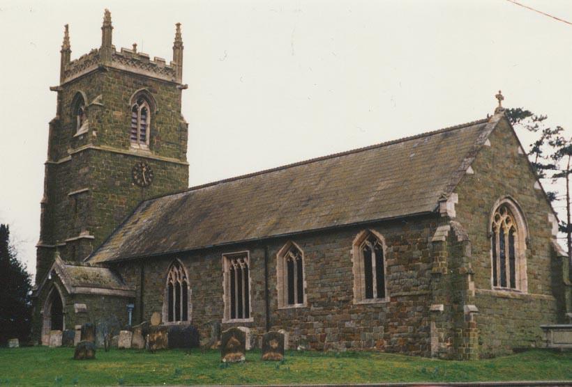 West Ashby All Saints church