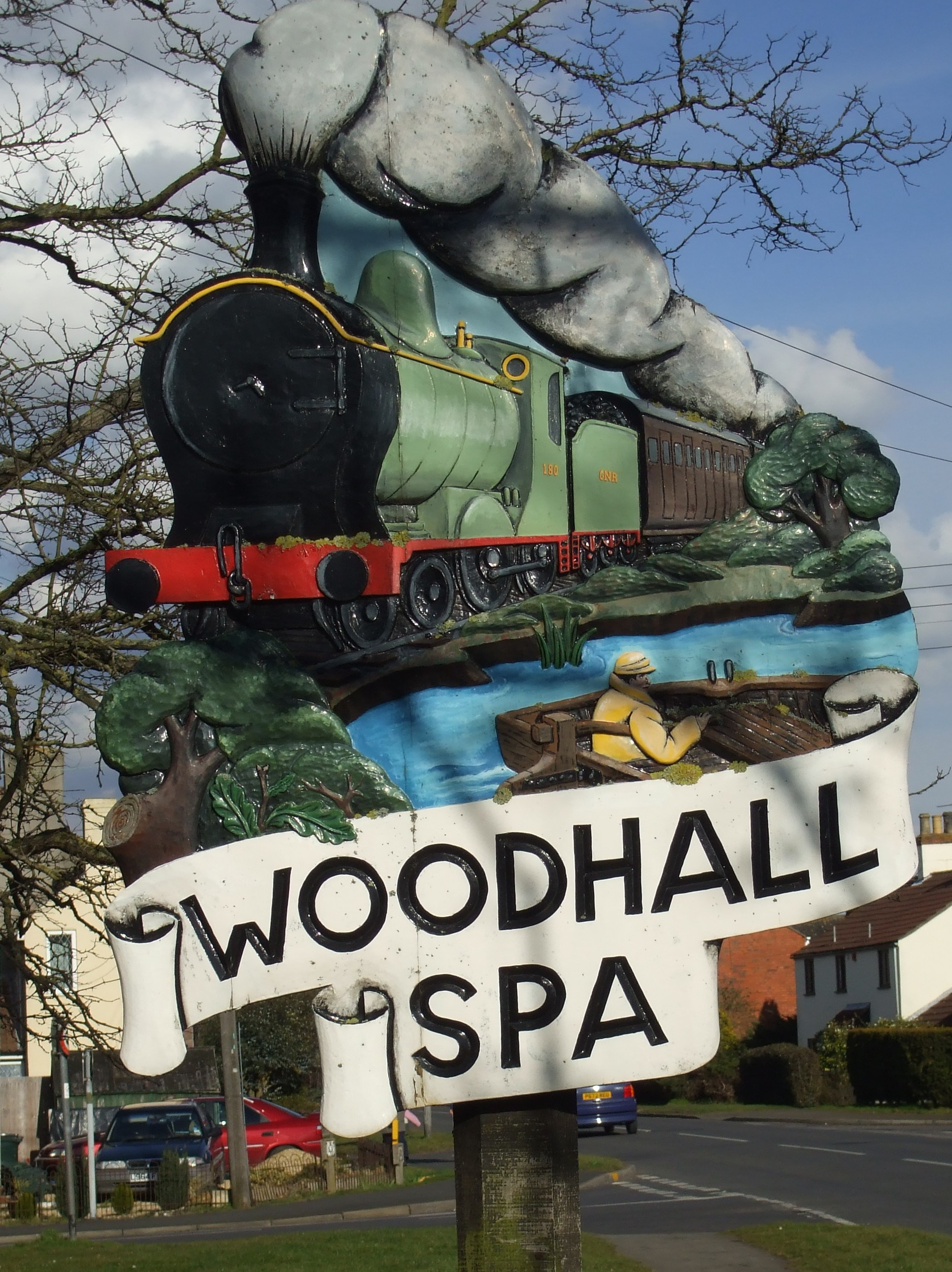 Woodhall sign #1