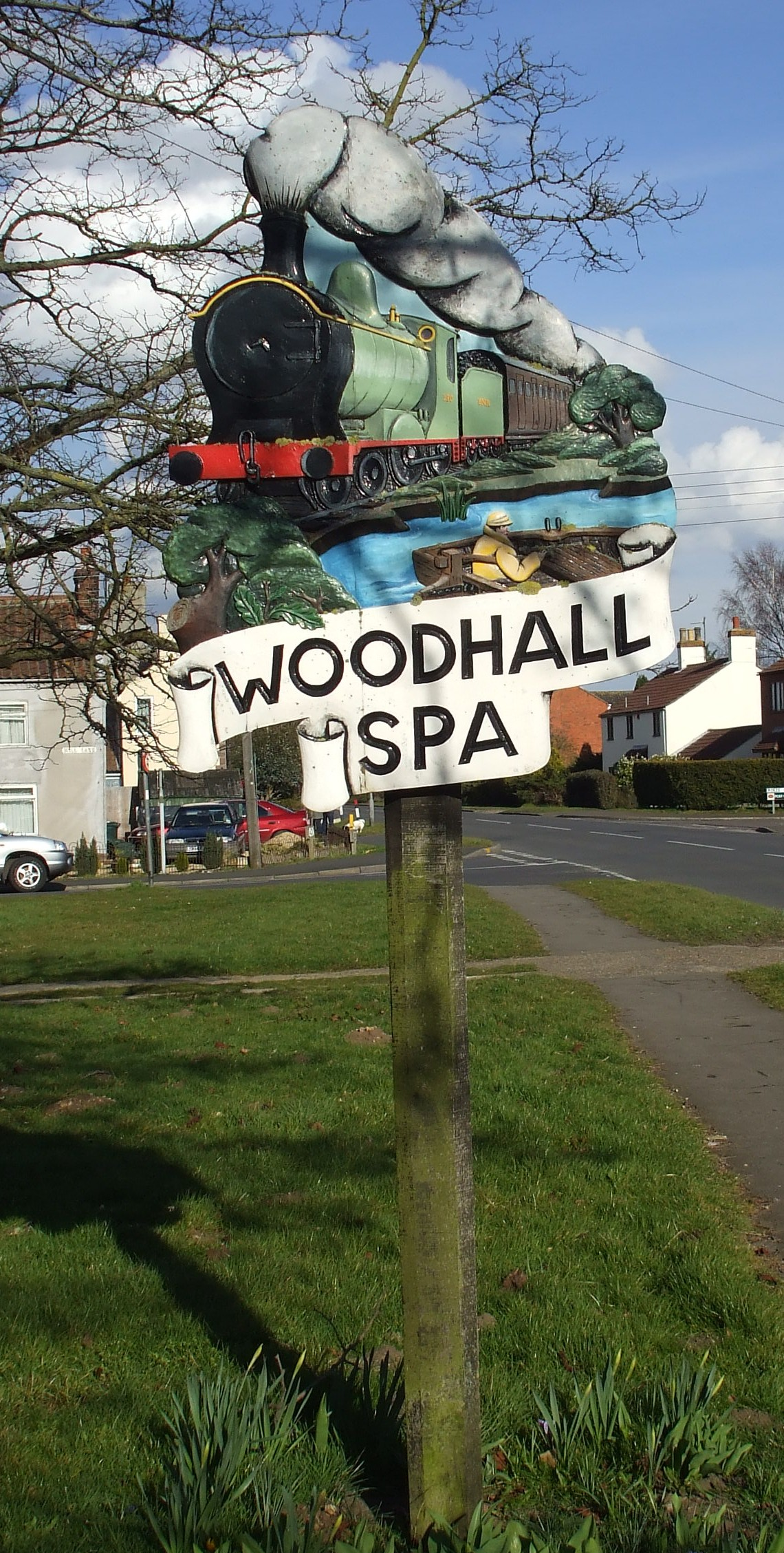 Woodhall sign #2