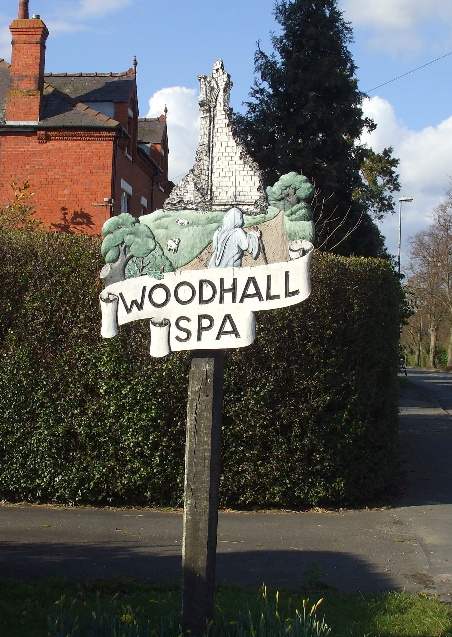 Woodhall sign #3