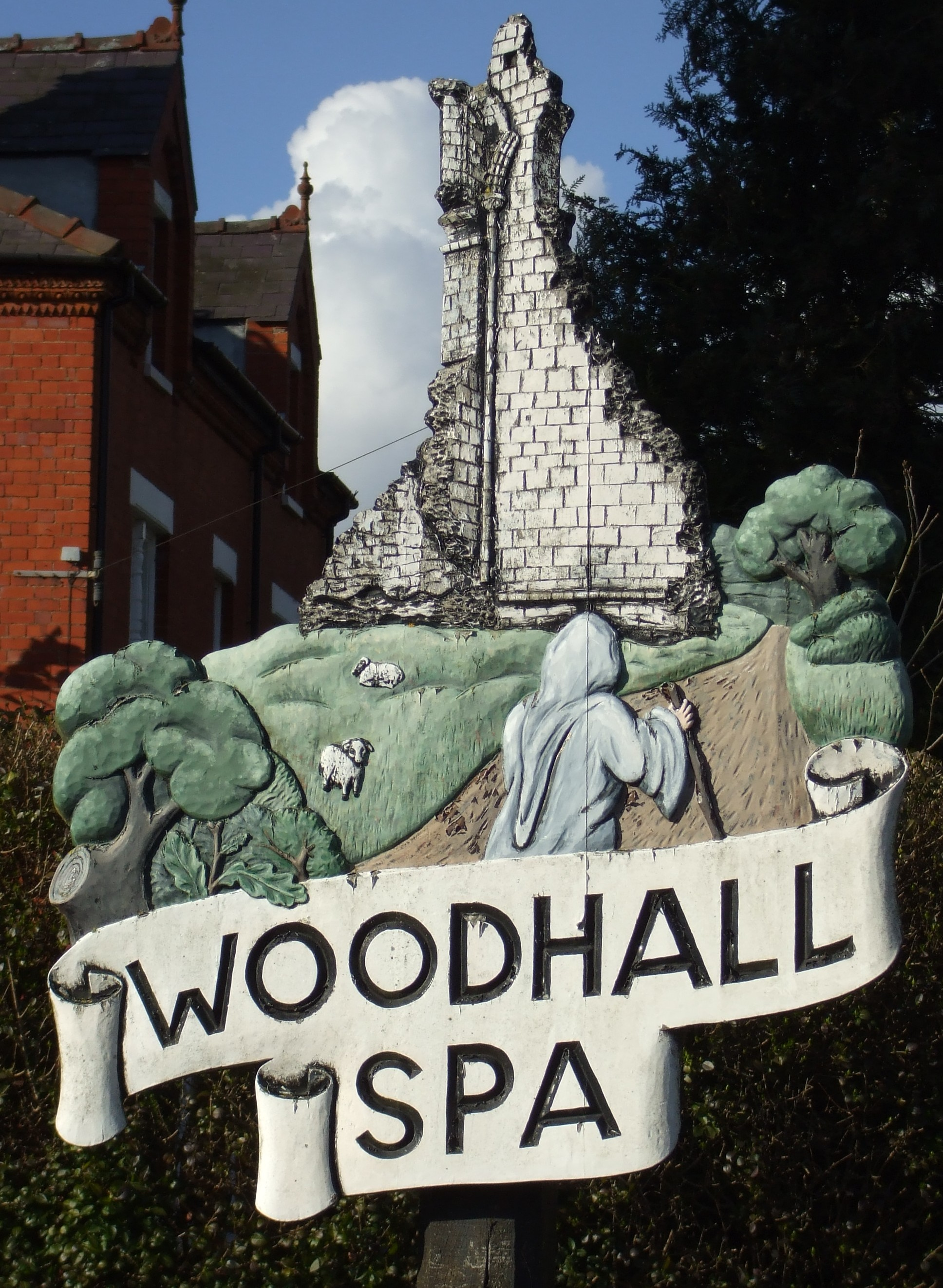 Woodhall sign #4