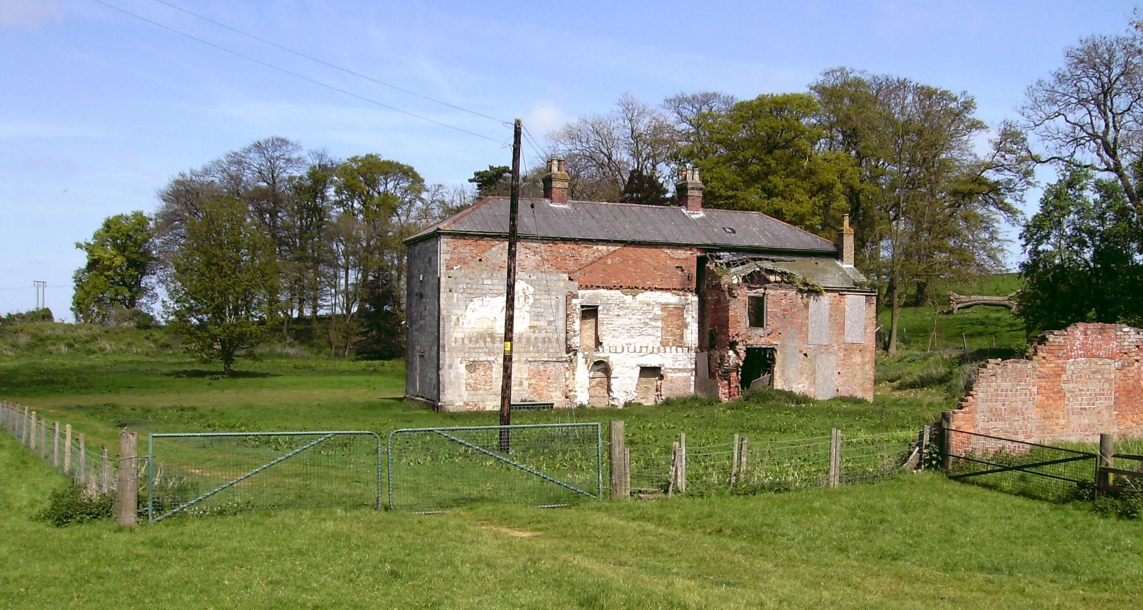 Cadeby Hall 2008, reverse