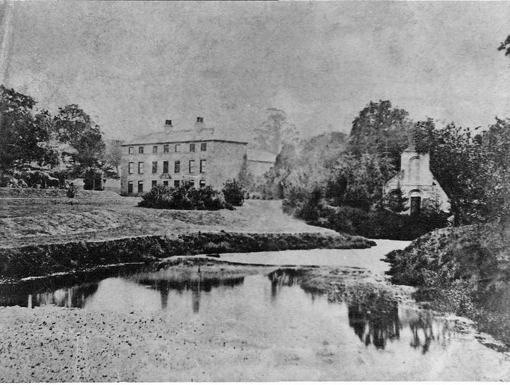 Cadeby Hall circa 1860