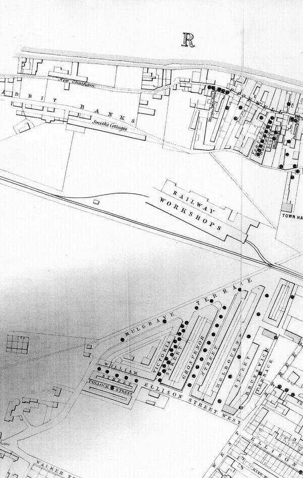 Gateshead Cholera Map Part 1