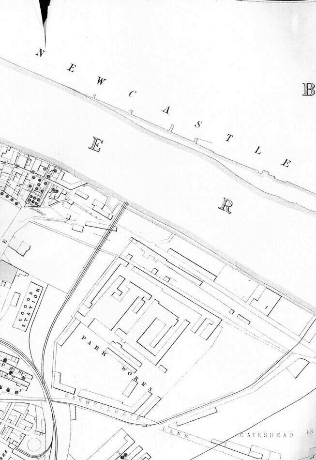 Gateshead Cholera Map Part 3