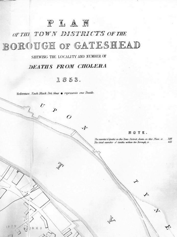 Gateshead Cholera Map Part 4