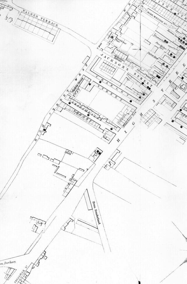Gateshead Cholera Map Part 5