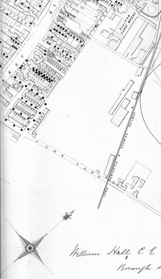 Gateshead Cholera Map Part 6