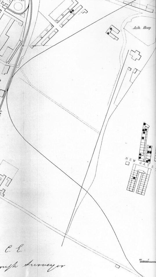 Gateshead Cholera Map Part 7