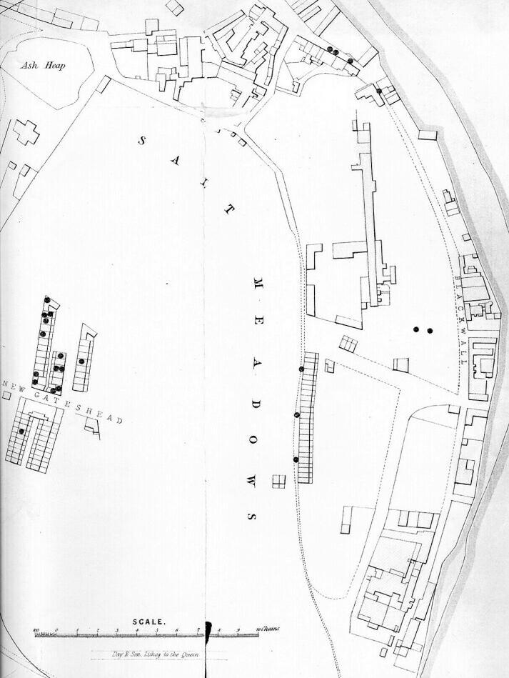 Gateshead Cholera Map Part 8