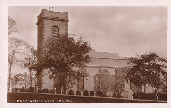 c1915 postcard of Old Church