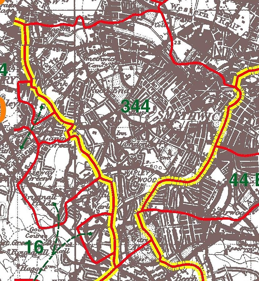 Smethwick Parish Map