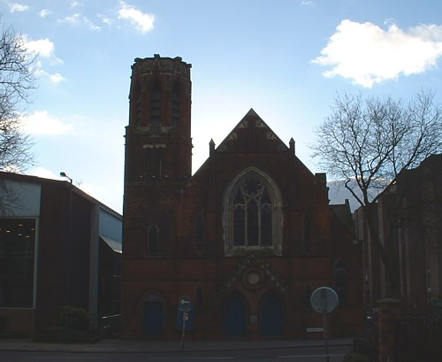 Photograph of Hatherton Road United Reformed Church 2003