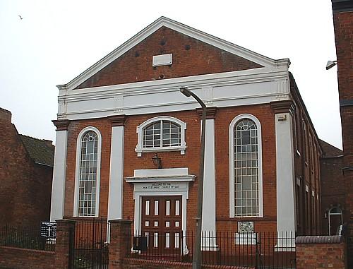 Photograph of Upper Lichfield Street Baptist Chapel, 2003