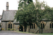 Click here for larger photo of church by Dave Huddart