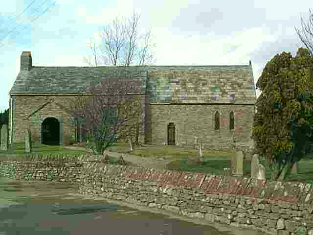Click here for picture of St Cuthbert's church from Les Strong