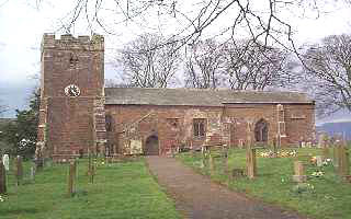 Picture of Kirkby Thore church by Les Strong