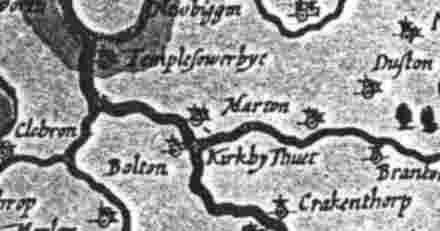 John Speed map of 1610
