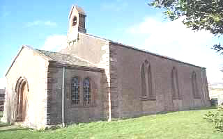 Picture of Thrimby Church by Les Strong