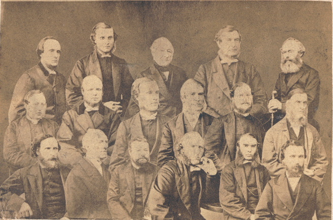 Ministers of Clackmannanshire circa 1890-1910