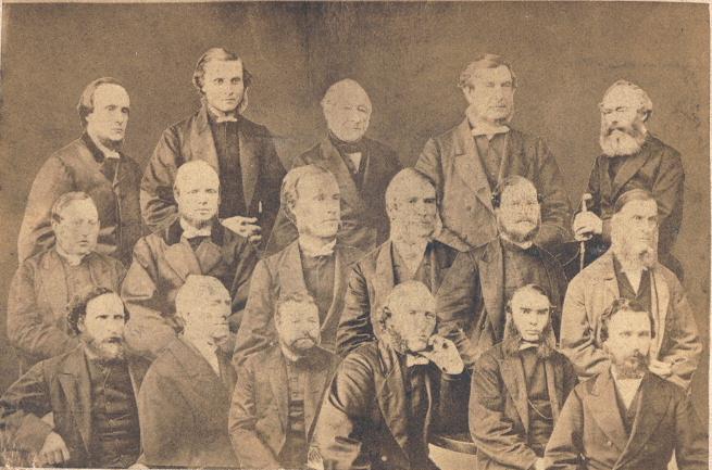 Ministers of Clackmannanshire circa 1890-1910