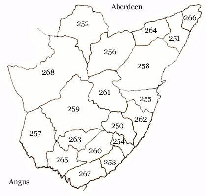Parish Map of Kincardineshire