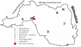 Glamorgan Parish Map
