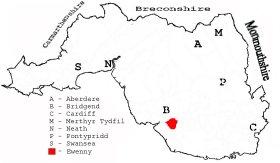 Glamorgan Parish Map