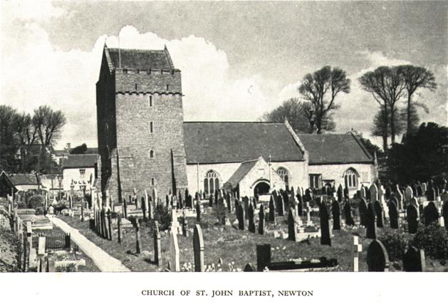 Church of St. John Baptist, Newton