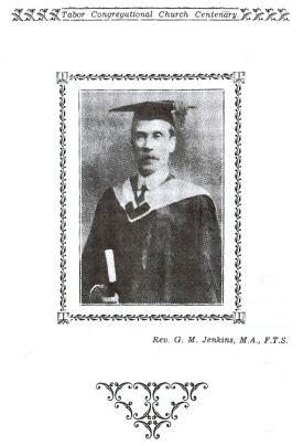 Rev. G. M. Jenkins, M.A., F.T.S.