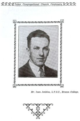 Mr. Ioan Jenkins, L.T.S.C., Brecon College