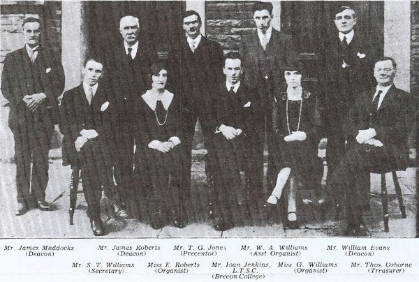 Tabor Congregational Church Group Photo - 1929