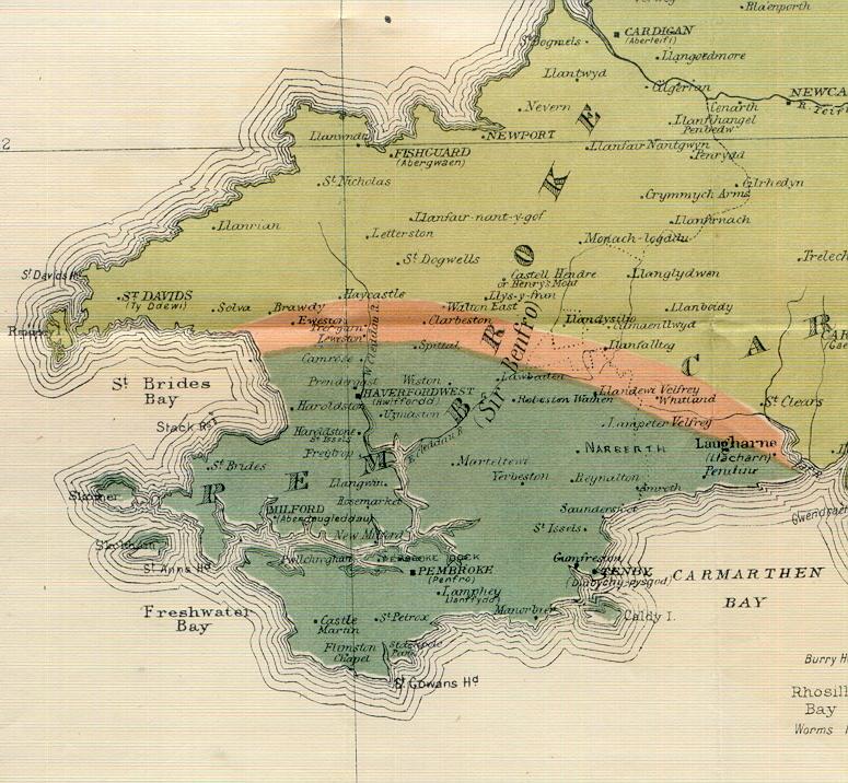 landsker map